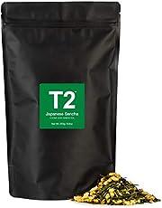 T2 Tea Japanese Sencha Green Tea, Loose Leaf Green Tea in Resealable Foil Refill Bag, 250 g