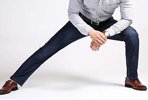 Semplice Match Di Ro Rilassanti Commerciali Colour Ngliche Uomo Uomini Lavati Gamba R Men Spring Dritta Stile Cotone Seduta Estate Degli I Jeans Tutti Moda EYR1qw7