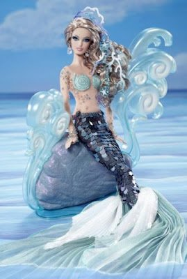 (Barbie 2012 BFC The Mermaid Fantasy Collection Gold Label)