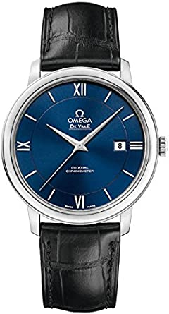 b7084840ae5 Image Unavailable. Image not available for. Color  Omega De Ville Prestige  Co-Axial 39.5mm Men s Watch ...