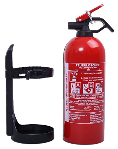 Autofeuerlöscher GP-1z ABC 1kg mit Halterung (Aufladelöscher)