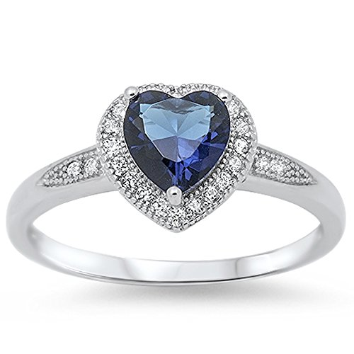 Blue-Sapphire-Heart-Halo-925-Sterling-Silver-Ring-Sizes-4-11