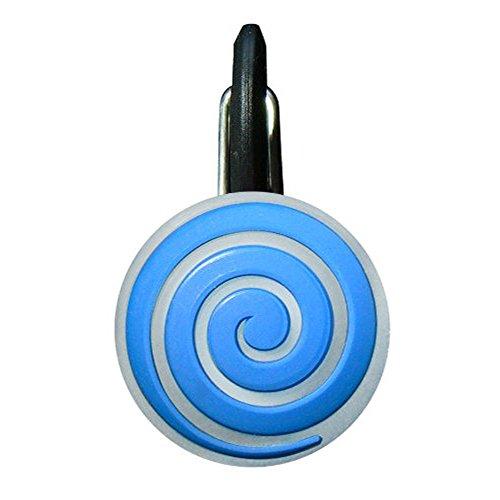 Nite Ize NCLS02-03-03SP ClipLit Designs, Blue Spiral