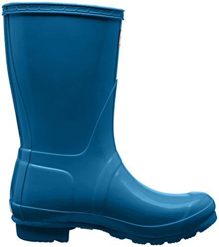 Low Hunter Blu rob Gomma Di Donna Boots Wellington blue Stivali B1nqw1vdF