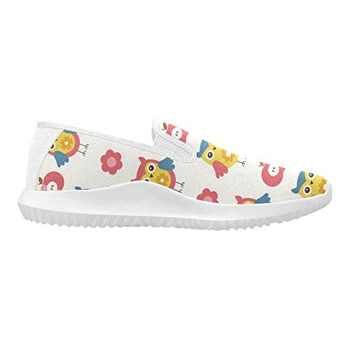 InterestPrint Cute Baby Pattern Womens Slip-On Loafer Shoes Canvas Fashion Sneakers Multi 1 ICNcVu
