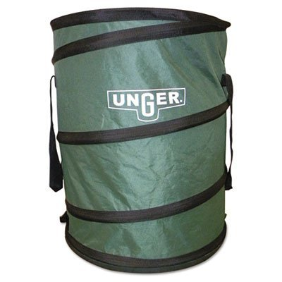 Unger Enterprises NB300 Portable Garbage Bagger, Lightweight, 23 in.x23 in.x37 in., Green