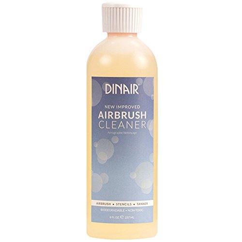 Dinair Airbrush Makeup Cleaner, Clogged Makeup? No Problem | 8 ounce