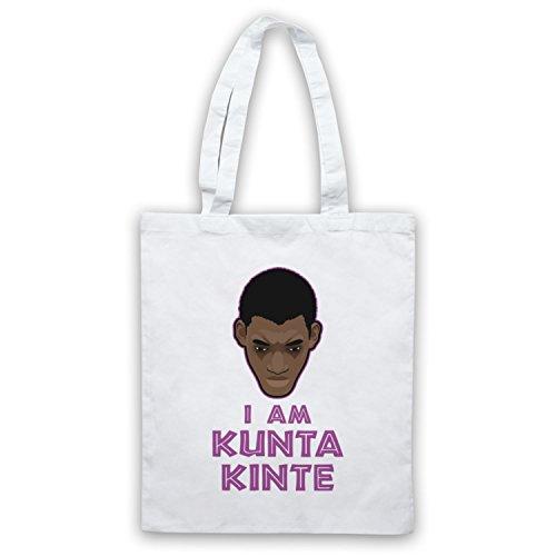 Roots I Am Kunta Kinte Bolso Blanco