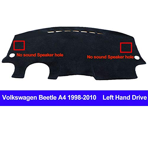 - AUCD Car Dashboard Cover Dash Mat for Volkswagen VW Beetle A4 1998-2005 2006 2007 2008 2009 2010 Non-Slip Sun Shade Pad Carpet