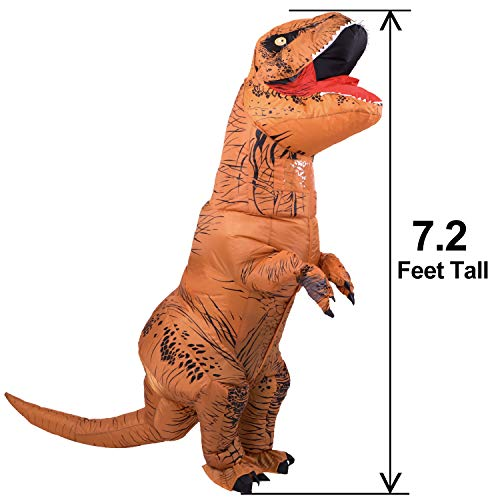 HEYMA T-Rex Costume Inflatable Dinosaur Costume for Adult Halloween Inflatable Costume Halloween costums 2018