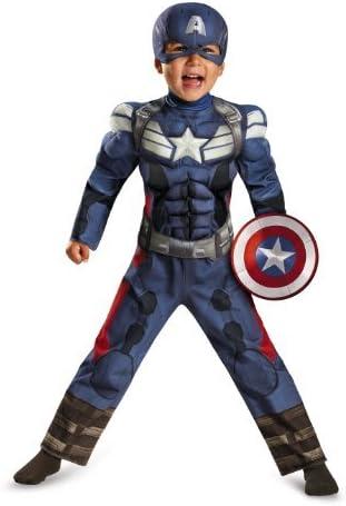 Disfraz Marvel Capitán América El Soldado de Invierno Movie 2 ...