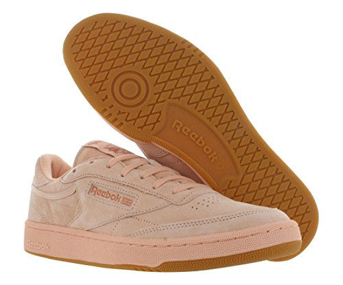 best place cheap online sale finishline Reebok Men's Club C 85 Fashion Sneaker Rose Cloud/Rustic Clay buy cheap under $60 buy cheap authentic 8KrRVuWaT