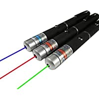 Joy juice 50mW 2-in-1 Laser Star Projector Teaching pen (Green + Red + Purple)