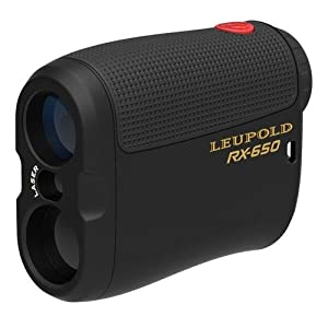 Leupold 120464 RX-650 Micro Laser Rangefinder, Black from Pro-Motion Distributing - Direct