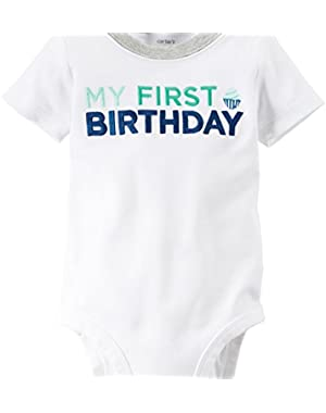 Carters Baby Clothing Outfit Boys Baby Clothing Outfit's First Birthday Bodysuit Boy