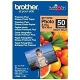 Brother BP71GP50 - Papier photo brillant - 100 x 150 mm - 50 feuilles