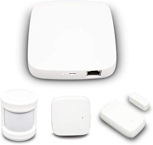 Tuya Zigbee Hub PIR Sensor Door Sensor Temperature and Humidity Sensor Combination packages