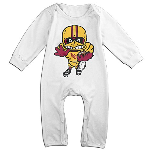 [Ahey Boy's & Girl's Iowa State University Long Sleeve Jumpsuit Outfits 12 Months] (Theodore Twombly Costume)