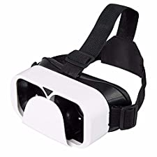 VR Headset Virtual Reality Box Case 3D Glasses goggles Helmet Cardboard Casque For 4.5~6.0 inches android ios Smart Phone
