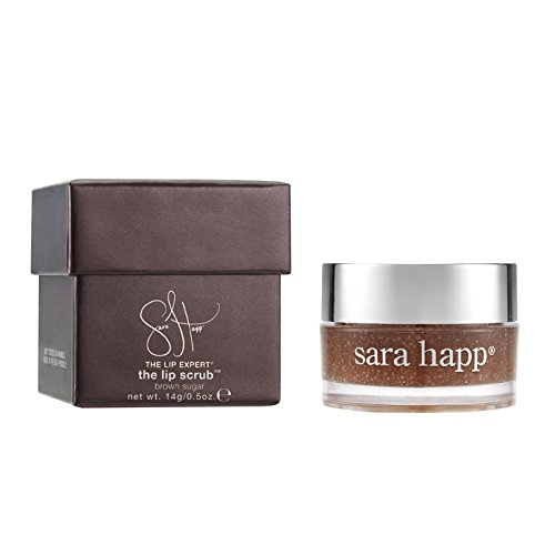 sara happ The Lip Scrub, Brown Sugar, 0.5 oz.