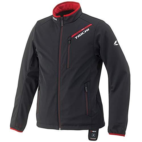 RSタイチ(アールエスタイチ)  e-HEAT インナージャケット BLACK/RED XL RSU614BK02XL B07FSB77YW