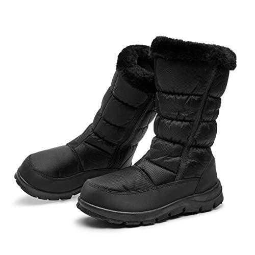 Femme Outdoor Chaudes Nior Hiver Neige Chaussures Eu Fourrure Bottes Étanche Dogeek 41 Doublé Fourrées De Eu 36 Femmes zqwYfHBC