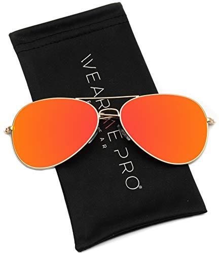 caca70959e2 WearMe Pro - Polarized Metal Frame Pilot Style Aviator Sunglasses - Buy  Online in Oman.