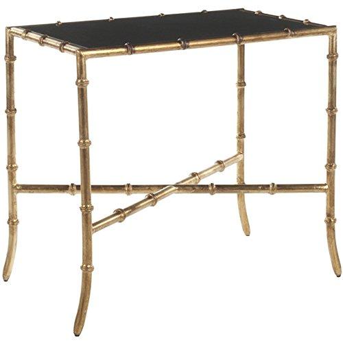 Kayley Rectangular Modern Glass Coffee Table: Amazon.com: Safavieh Chandler Accent Table, Gold: Kitchen