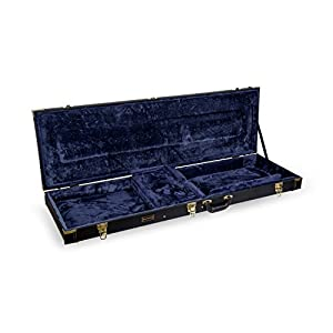 Crossrock Deluxe Wood Hard Case for OM/000 Guitar Case from Crossrock