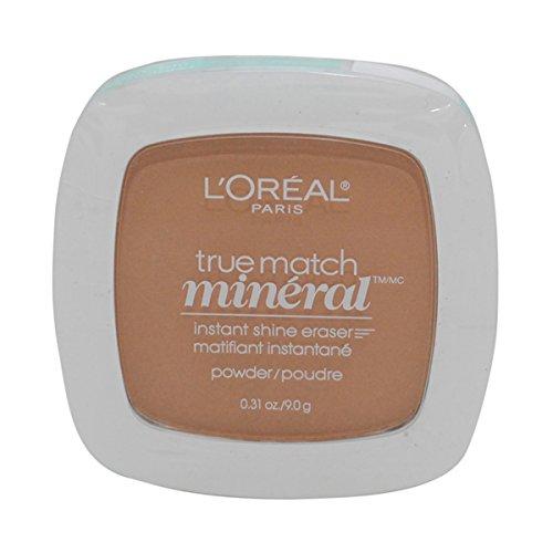 3 Pack- L'Oreal True Match Mineral Instant Shine Eraser Powder #N6-7/416 Classic Tan