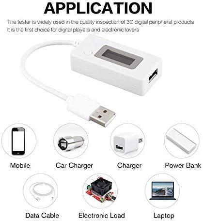 Peanutaoc Digital USB Charging Doctor Ampmeter Voltmeter Current Voltage Tester Detector Mobile Battery Power Capacity Meter