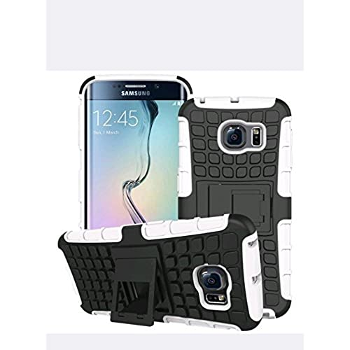 Galaxy S7 dual layer armor case with kickstand (white) Sales