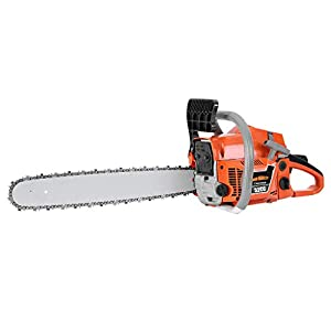 52CC 2-Cycle Gas Powered Chainsaw, 20-Inch Chainsaw,(US Stock) Handheld Cordless Petrol Gasoline Chain Saw for Farm…