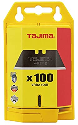 Tajima LCB-65 1-Inch 7-Point Rock Hard Blade - 10 Blade Pack