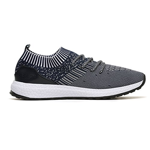 RomenSi Mens Sneakers Running Lightweight Breathable Gym Casual Shoes