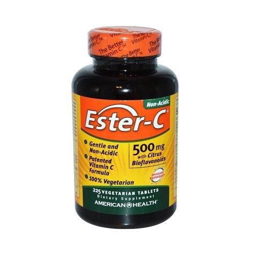AMERICAN HEALTH ESTER-C 500 W/CIT BIO VEG, 225 TAB by American Health