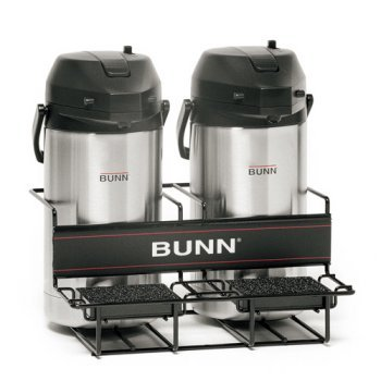 BUNN 35728 2 Lower Universal Airpot Rack, Stainless ()