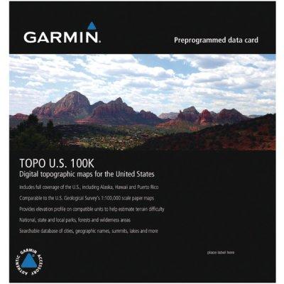 TOPO U.S. 100K MicroSD Card with SD Adapter by Garmin