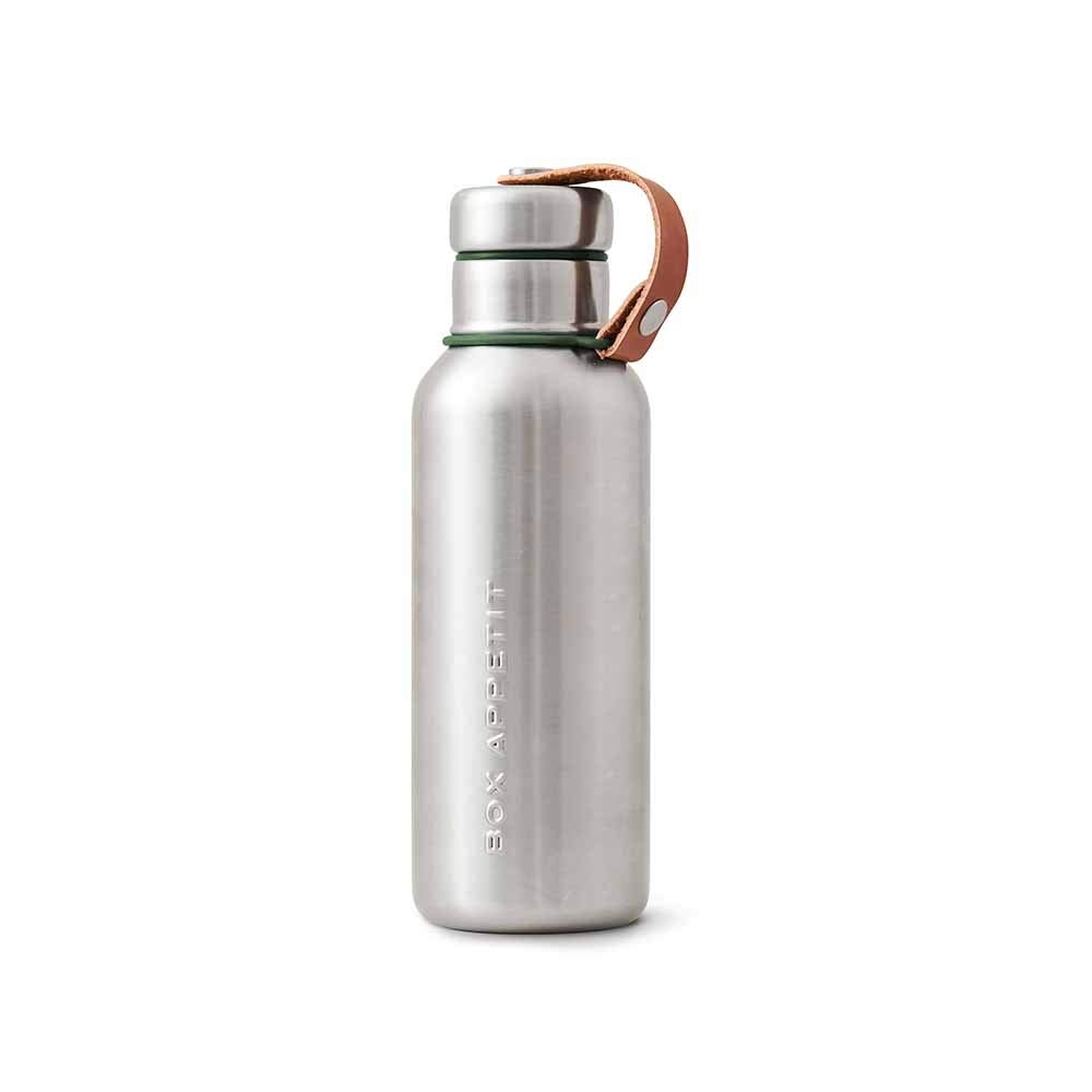 Black+Blum Stainless Steel Insulated Water Bottle | Stylish Leak Proof Drinking Vacuum Thermo Flask, BPA Free Canteen for Hot or Cold Drinks, Small Orange BAM-IWB-S003