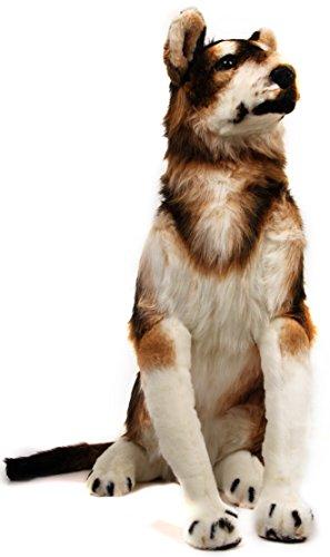 VIAHART Hank The Husky | 3 Foot Tall Big Stuffed Animal Plush Giant Big Snow Dog | Shipping from Texas | by Tiger Tale -