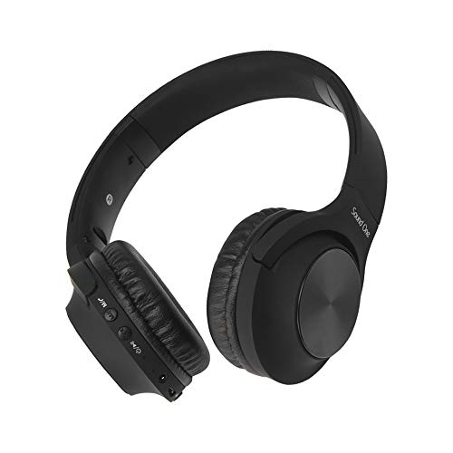 Sound One V10 Bluetooth Wireless Headphones with Mic/, AUX,FM and SD Card Slot  Black