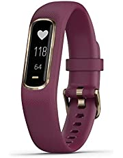 Garmin vívosmart 4, Activity and Fitness Tracker w/Pulse Ox and Heart Rate Monitor