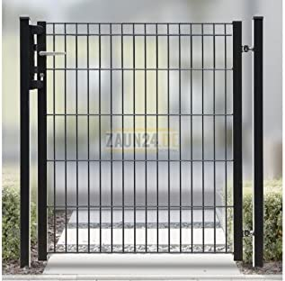 Puerta para jardín Charly, Ancho 96 cm con valla Conector de ángulo: Amazon.es: Jardín