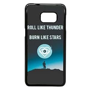 Samsung Galaxy S6 Edge Plus case (TPU) ,Samsung Galaxy S6 Edge Plus Cell phone case Black all time low future hearts lyrics - HHKL4441310