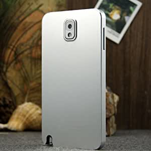 R-just® [Ultra-thin Series] Metal,Ultra-thin And Commercial Case/Cover For Sumsung Galaxy Note 3 (Separable Back Cover And Bumper) - Silver