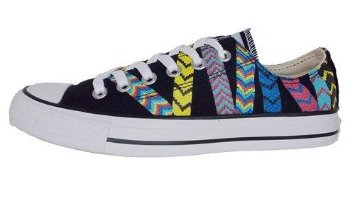 Samtala Chucken Taylor All Star Vänskap Armband Sneaker I Svart, 9,5 532244f