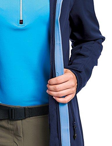 maier sports Rigel Abrigo de Soft Shell blue - Medieval Blue
