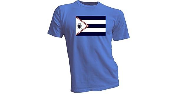 Amazon.com: ALIANZA LIMA Peru Futbol Soccer Flag Banner Blue T-SHIRT Camiseta NEW Size s-4x: Sports & Outdoors