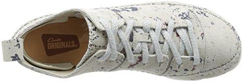 Clarks Scarpe Donna Bianco/Multicolor 26121611