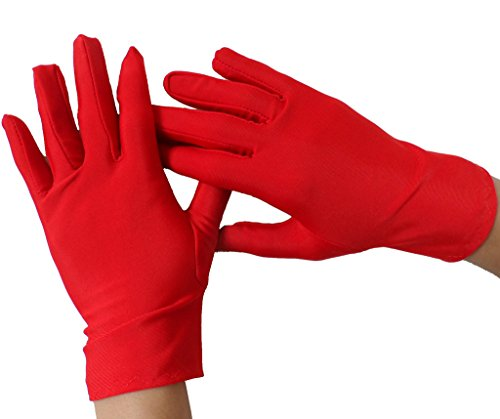 Winday Women's Glove Liner red from WINDAY